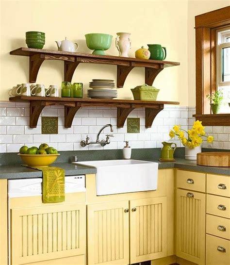 meuble cuisine jaune peinture element cuisine meilleures images d inspiration