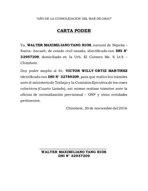 ejemplo de carta poder notarial car pictures carta poder para propiedades pictures to pin on pinterest