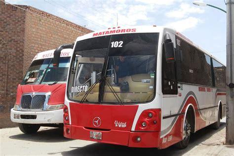 transporte en matamoros tamaulipas mexico aumenta pasaje en los camiones rojos