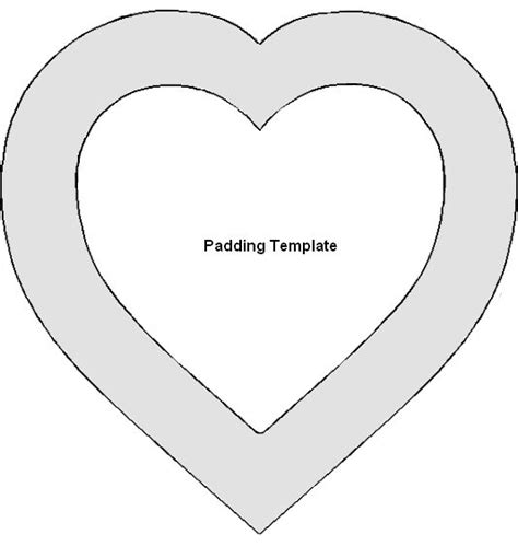 printable heart templates free heart templates new calendar template site
