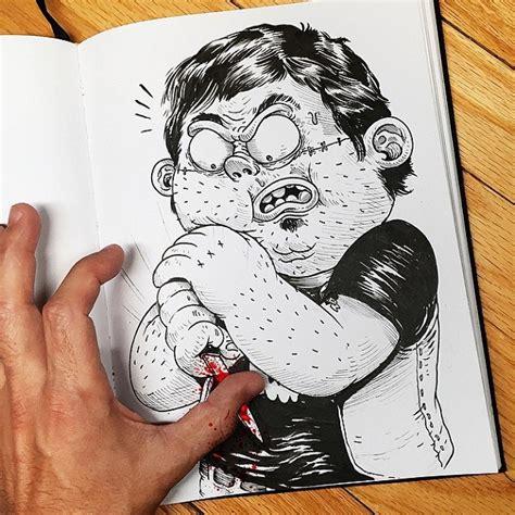 Correction Kartun Lucu quand un dessinateur se bat avec ses 20 cr 233 ations