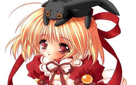 imagenes navideñas de anime chiquilla anime en navidad wallpapers