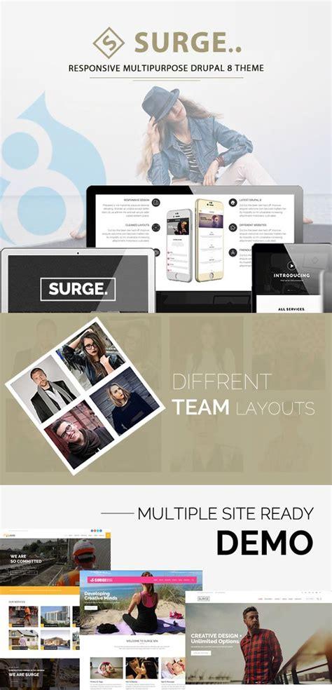 drupal themes overview surge multipurpose responsive drupal theme drupal