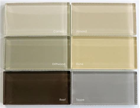 subway tile colors subway tile colors lush 3x6 driftwood amount in stock