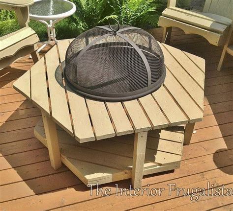 diy pit wood deck great pit ideas