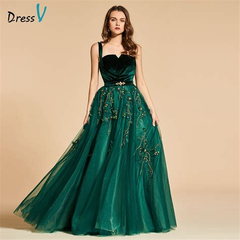 aliexpress buy dress party evening elegant green lace long aliexpress com buy dressv green long evening dress