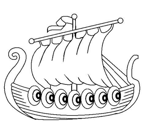 viking cartoon coloring page vikings pinterest the o dibujo de barco vikingo para colorear dibujos net