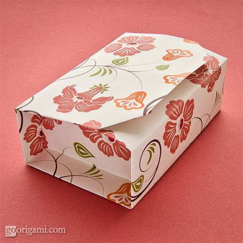 Box In A Box Origami - boxinabox origami box by akiko yamanashi go origami