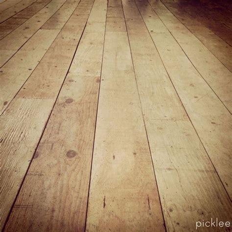 farmhouse wide plank floor tutorial done using plywood