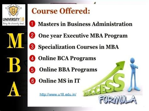 Courses Offered In Mba by Distance Learning Mba Courses In India