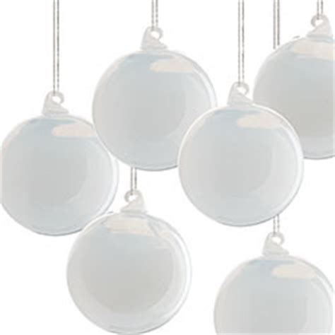 milk white christmas ornaments milk glass globes small white set of 6 new ornaments dallas by wisteria