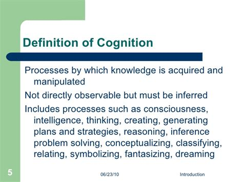 cognitive biography definition cognitive development lecture 1