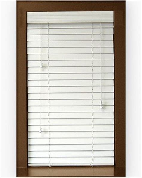window blinds price 2 express faux wood blinds for window 34 quot x 76 quot by lowest