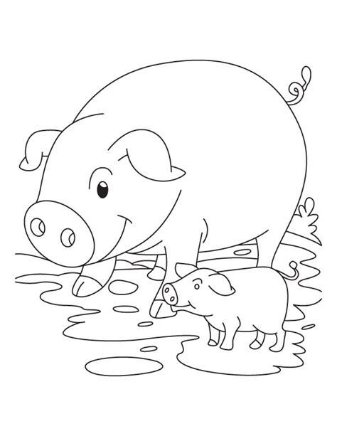 cute pig coloring pages az coloring pages