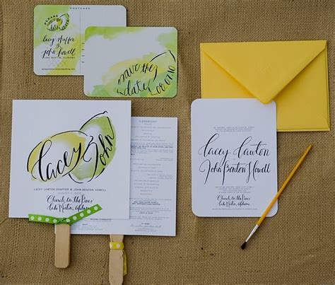 lemon and lime themed wedding invitations 17 best images about lemon lime wedding theme on yellow weddings green