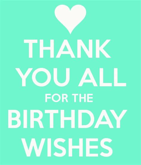 Thank You For Happy Birthday Wishes Quotes 25 Best Ideas About Thanks For Birthday Wishes On
