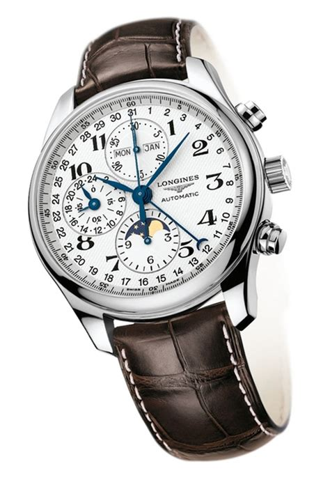 Longines Master Moonphase Chronograph longines watchmaking tradition master collection moon phase calendar chronograph