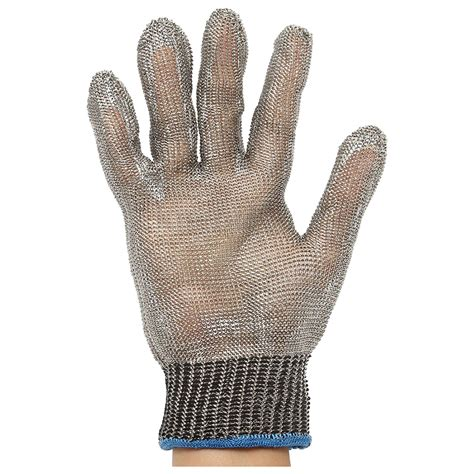 Safety Cut Proof Stab Resistant Stainless Metal Mesh Butche 5x safety cut stab resistant stainless steel metal mesh butcher glove s ebay