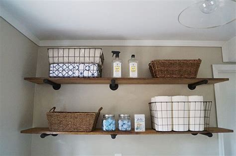 laundry with shelves diy laundry room storage ideas pipe shelving shelf
