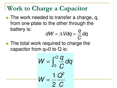 a 1 uf capacitor is charged by being connected ppt combinations of capacitors energy stored in a charged capacitor powerpoint presentation
