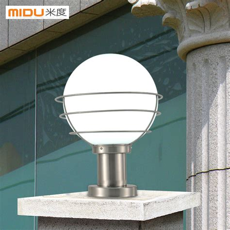 Outdoor Pillar Lights Stainless Steel Column Outdoor L The Door Pillar Ls Inlandscape Lighting From