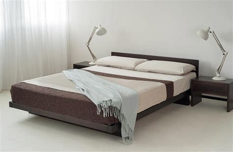 kumo  wooden beds japanese style natural bed