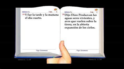 one capitulos la santa biblia hablada genesis cap 237 tulo 1