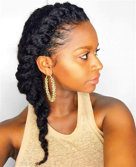 natural hair after five styles 45 easy and showy protective hairstyles for natural hair