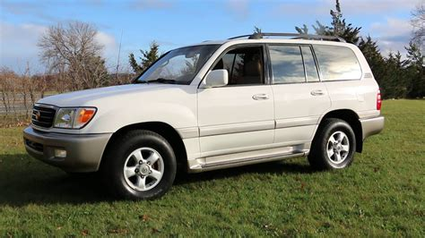 2002 Toyota Land Cruiser by 2002 Toyota Land Cruiser For Sale 3rd Row Leather Moon