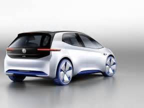 Future Electric Vehicles Models Volkswagen I D Electric Car Concept