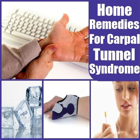 home remedies for carpal tunnel home remedies