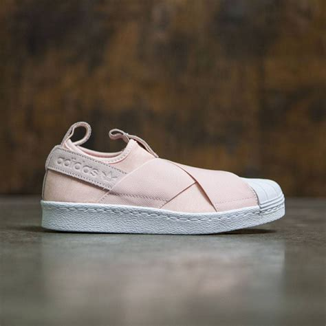 Adidas Slip On Baby Pink adidas superstar slip on pink halo pink footwear white