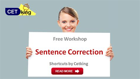 Sentence Correction Mba Cet by Sentence Correction 6 Steps To Answer Correctly Cetking