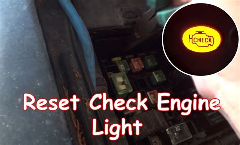 How To Reset Check Engine Light On Chevy Silverado diy reset check engine light without obdii reader