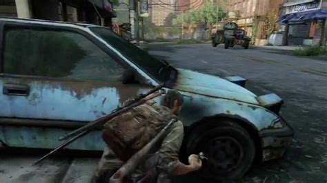 the last lorry a the last of us grounded mode financial district armoured truck different method youtube