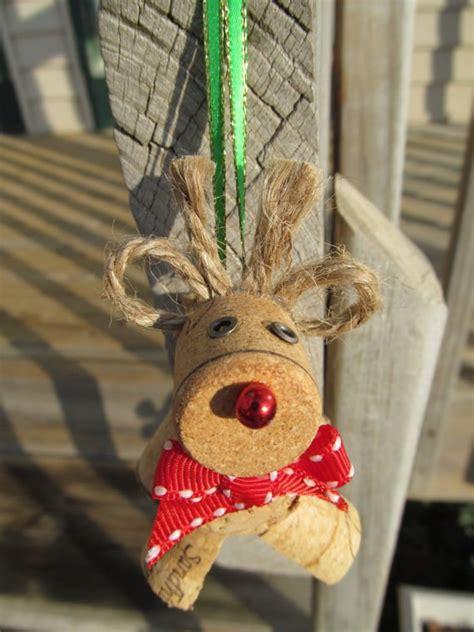 wine cork christmas crafts  brilliant decoration ideas