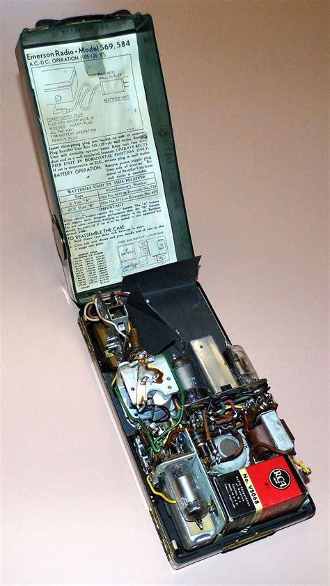 569 best images about coding on pinterest radios 3d https flic kr p unszu6 vintage emerson portable tube