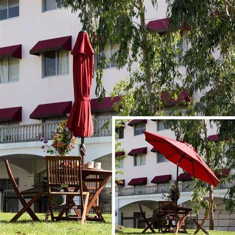 Abba Patio 9 Ft Market Outdoor Aluminum Table Patio Abba Patio 9 Ft Outdoor Market Patio Umbrella With Auto
