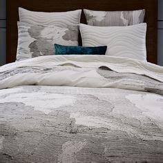 West Elm Chunky Wood Bed Frame Chunky Wood Bed Frame Slats King Chocolate Stained Veneer West Elm Bedroom Pinterest