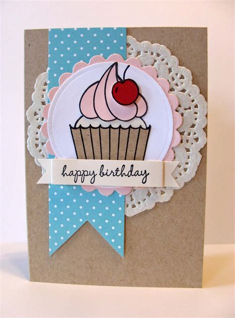 Gift Birthday Card - hey cupcake diy birthday card and gift bag kitchen table ster