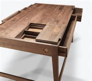 no screws or glue in solid wood desk by wewood