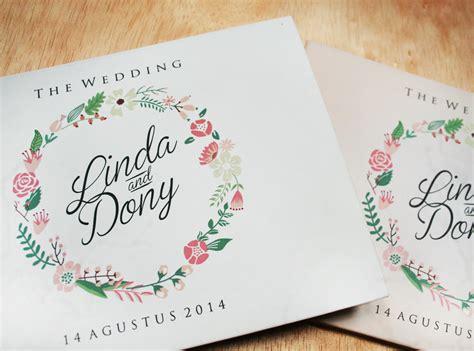cara membuat undangan vintage daftar produk undangan pernikahan hardcover undangan