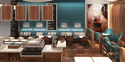 Restaurant Concept Design by Pleasant Restaurant Concept Design Ideas With Square Shape