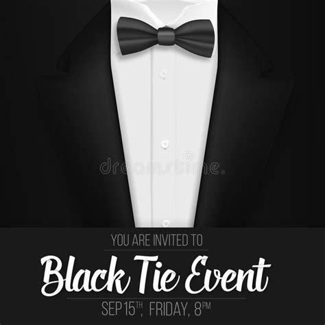 Invitation Templates For Black Tie Event Images Invitation Sle And Invitation Design Black Tie Event Program Template