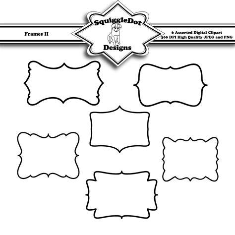 printable art to frame printable frame clip art for digital scrapbooking