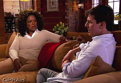 Oprah Has Been Shut Out Of The Cruise Wedding by So What Exactly Did Oprah Ask That Brought An Angry Frown