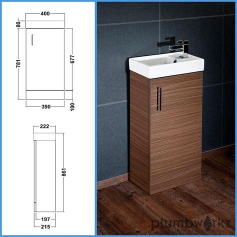 compact bathroom vanity unit basin sink vanity 400mm