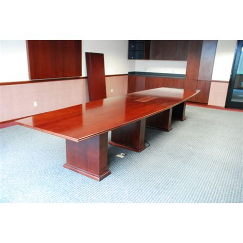 Cherry Conference Table 22 Cherry Veneer Conference Table Used Tables Used