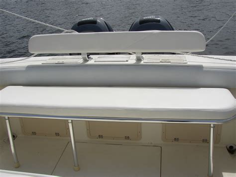 boat transom bench seat the hull truth boating and fishing forum view single