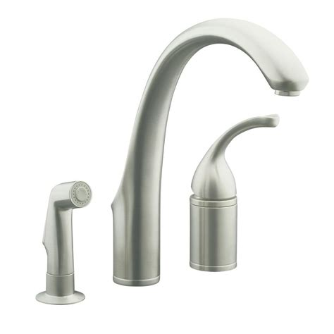 How To Install A Faucet In The Kitchen Brilliant Kohler Kitchen Faucets Nanobunshco Also Kohler Kitchen With Kohler Kitchen Faucets How